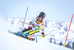 17.02.2019, Aare, SWE, FIS Weltmeisterschaften Ski Alpin, Slalom, Herren, 1. Lauf, im Bild Clement Noel (FRA) // Clement Noel of France in action during his 1st run of men's Slalom of FIS Ski World Championships 2019. Aare, Sweden on 2019/02/17. EXPA Pictures © 2019, PhotoCredit: EXPA/ Dominik Angerer