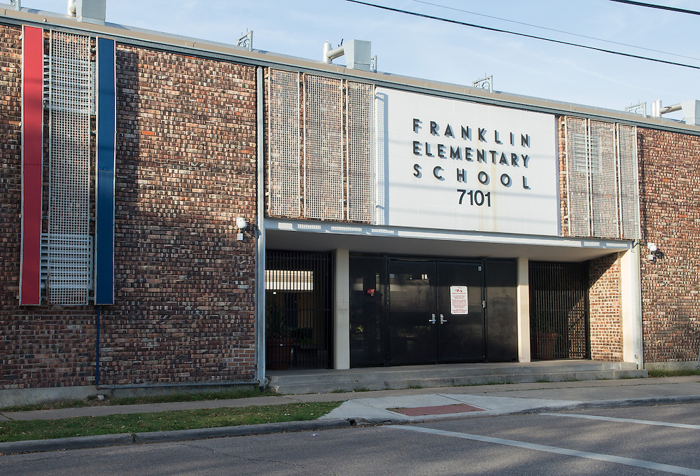 Franklin Elementary School photographed April 5, 2013. The school was a recipient of funds from the 2007 Bond.