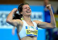 07-02-2010 ATLETIEK: NK INDOOR: APELDOORN<br /> Nederlands kampioen 60 meter Dafne Schippers<br /> ©2010-WWW.FOTOHOOGENDOORN.NL