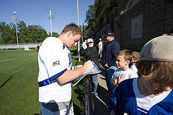 06 May 2007: Duke Blue Devils attackman Matt Danowski (40) during a 19-6 victory over the Air Force Falcons at Koskinen Stadium in Durham, NC.