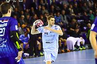 Romain Briffe - 05.03.2015 - Montpellier / Cesson Rennes - 17eme journee de Division 1<br />Photo : Andre Delon / Icon Sport