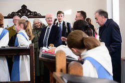 The official opening of Lincoln Cathedral's Song School by Dr John Rutter CBE followed by Choral Evensong with the Presentation of Choristerships.<br /> <br /> Picture: Chris Vaughan Photography for Lincoln Cathedral<br /> Date: January 28, 2018