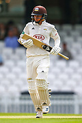 Sam Curran of Surrey during the Specsavers County Champ Div 1 match between Surrey County Cricket Club and Kent County Cricket Club at the Kia Oval, Kennington, United Kingdom on 10 July 2019.