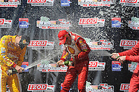 Helio Castroneves, Honda Grand Prix of St. Petersburg, Streets of St. Petersburg, St. Petersburg, FL 03/25/12