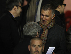 Former Leicester manager Nigel Pearson in the stand before the match - Mandatory by-line: Jack Phillips/JMP - 11/04/2016 - FOOTBALL - City Ground - Nottingham, England - Nottingham Forest v Brighton and Hove Albion - Sky Bet Championship
