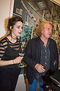 CHARLOTTE BELL, Henry Hudson: The Rise and Fall of Young Sen – The Contemporary Artist's Progress - private view. S2,  Sothebys 31 St George Street, London