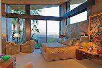Bedroom of luxury mansion
