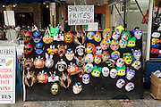 various mask display