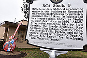 RCA Studio B legendary recording studio in Nashville, TN.