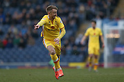 MK Dons forward Dean Bowditch (9)  during the Sky Bet Championship match between Blackburn Rovers and Milton Keynes Dons at Ewood Park, Blackburn, England on 27 February 2016. Photo by Simon Davies.