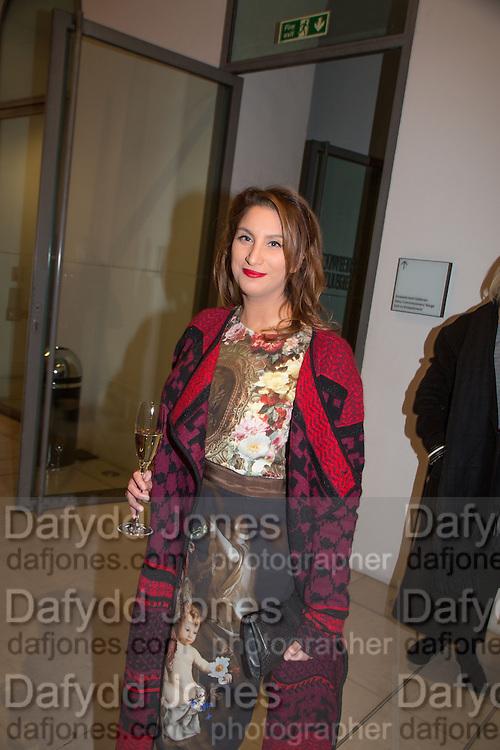 MARTINA RINK, Isabella Blow: Fashion Galore! private view, Somerset House. London. 19 November 2013
