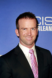 """17 September 2014. New Orleans, Louisiana.<br /> NCIS New Orleans. CBS Red carpet event at the WW2 Museum.<br /> Actor Lucas Black - """"Christopher LaSalle.""""<br /> Photo Credit; Charlie Varley/varleypix.com"""