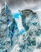 Madonna in Ice.  Iceberg formation in Neumayer Channel, Antarctica.