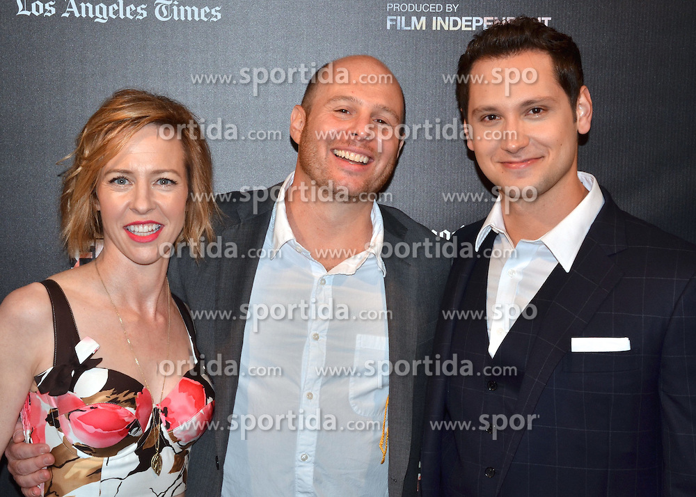 Amy Hargreaves, Marc Meyers, Matt McGorry arrived at the World Premiere of How He Fell In Love at the 2015 Los Angeles Film Festival. EXPA Pictures &copy; 2015, PhotoCredit: EXPA/ Photoshot/ Billy Bennight<br /> <br /> *****ATTENTION - for AUT, SLO, CRO, SRB, BIH, MAZ only*****