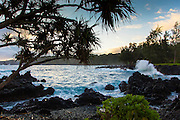 Sunrise, Keanae Peninsula, Hana Road, Maui, Hawaii
