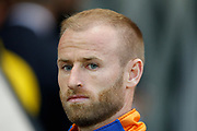 Barry Bannan of Sheffield Wednesday before the EFL Cup match between Rotherham United and Sheffield Wednesday at the AESSEAL New York Stadium, Rotherham, England on 28 August 2019.
