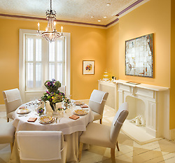 3238 O Street NW Washington, DC Design House Dining Room