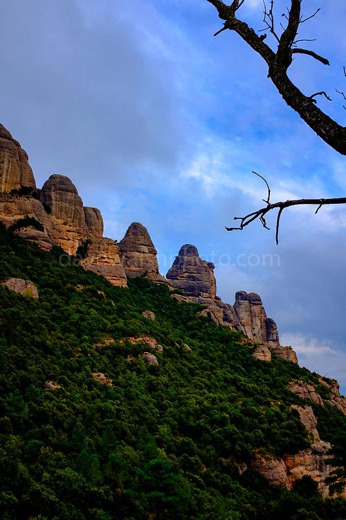 Serrat de la Portella, Montserrat, mountain, Catalonia