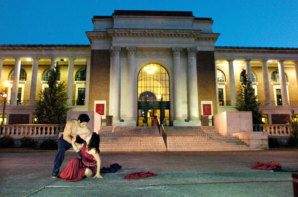 """Bard in the Quad's """"Romeo & Juliet"""" in the summer of 2006. (photo by Casey Campbell)"""