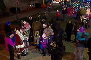 Middletown, New York - People enjoy the annual Middletown Holiday Parade and Tree Lighting on Nov. 29, 2013.