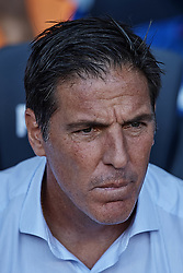 September 29, 2018 - Barcelona, Barcelona, Spain - Eduardo Berizzo head coach of Athletic Club de Bilbao looks on prior to the La Liga match between FC Barcelona and Athletic Club de Bilbao at Camp Nou on September 29, 2018 in Barcelona, Spain  (Credit Image: © David Aliaga/NurPhoto/ZUMA Press)