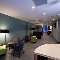 Russells Construction. Interior of the Park Inn, West George Street, Glasgow. Picture and copyright Braeside Photography.