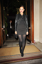 Actress NATHALIE EMMANUEL at the Inspiration Awards For Women held at Cadogan Hall, Sloane Terrace, London on 6th October 2010.
