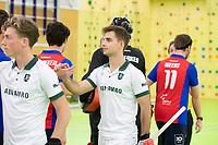 VIANEN - Zaalhockey Rotterdam-SCHC. Tristan Algera. heren.  COPYRIGHT KOEN SUYK