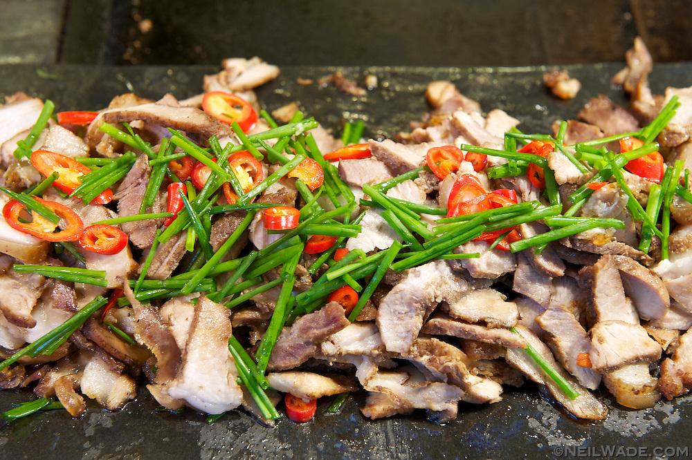 Wulai 烏來 - Mountain Pork 山豬肉 (I think)