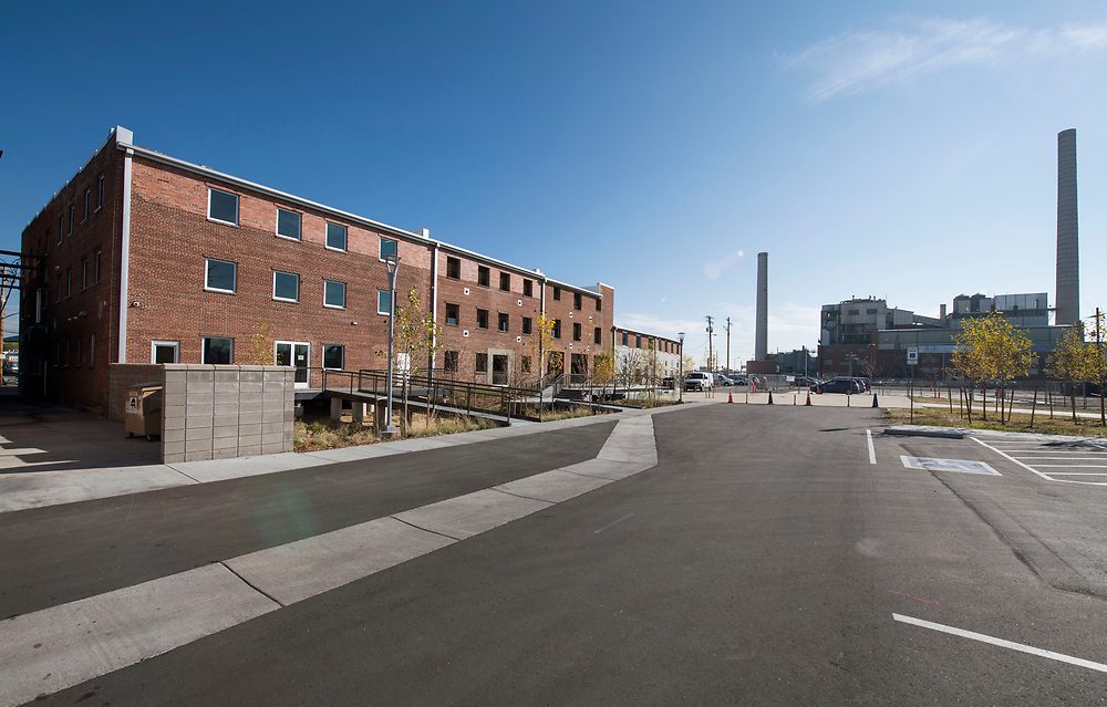 DENVER – NOV. 3. STEAM on the Platte – a new and historic reuse space recently developed at 14th and Zuni streets – is pictured near the Zuni Generating Station on 14th and Zuni streets in Denver's Sun Valley neighborhood. (Photo by Andy Colwell/Special to The Denver Post)