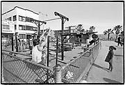 April 1976  •  Venice Beach, CA  •  the original Muscle Beach  •  Bunte assignment  •  Tri-X  •