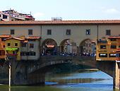 Italy, Florence, Ponte Vecchio, 1345 AD