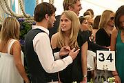 Jamie Dornan and Alice Eve, Cartier International Polo. Guards Polo Club. Windsor Great Park. 29 July 2007.  -DO NOT ARCHIVE-© Copyright Photograph by Dafydd Jones. 248 Clapham Rd. London SW9 0PZ. Tel 0207 820 0771. www.dafjones.com.