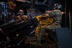 Aircrew with the 4th Special Operations Squadron conduct a routine training mission in an AC-130U Spooky gunship at Hurlburt Field, Fla., June 19, 2018. The AC-130U gunship's primary missions are close air support, air interdiction and armed reconnaissance. (U.S. Air Force photo by Senior Airman Joseph Pick)