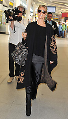 MAY 27 2013 Heidi Klum Tegel Airport