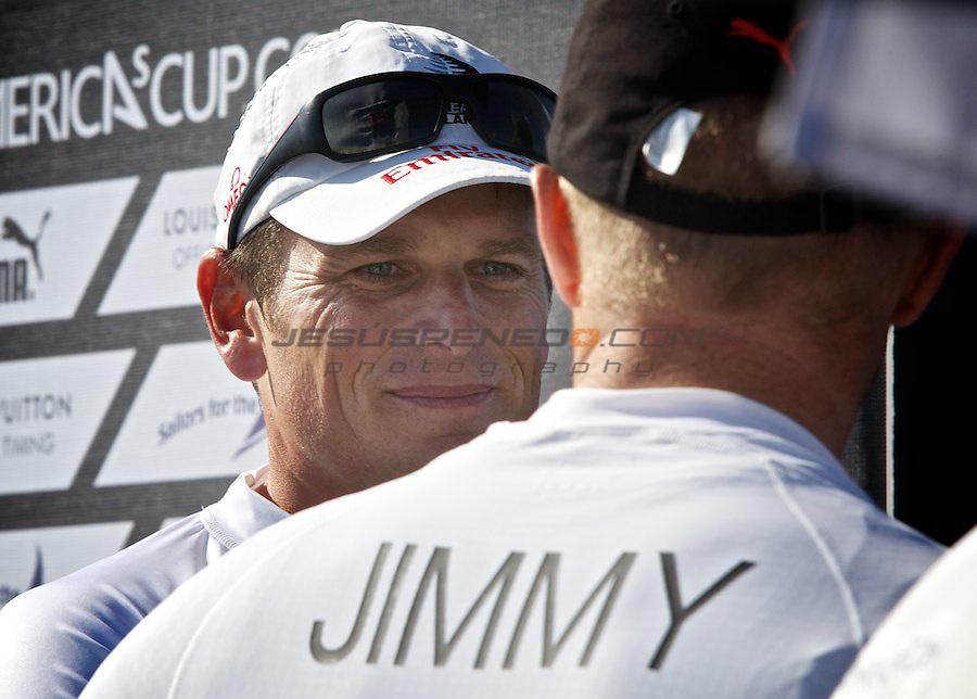 AC World Series,Cascais,Portugal.Match race final, winner Oracle Racing 4, James Spithill