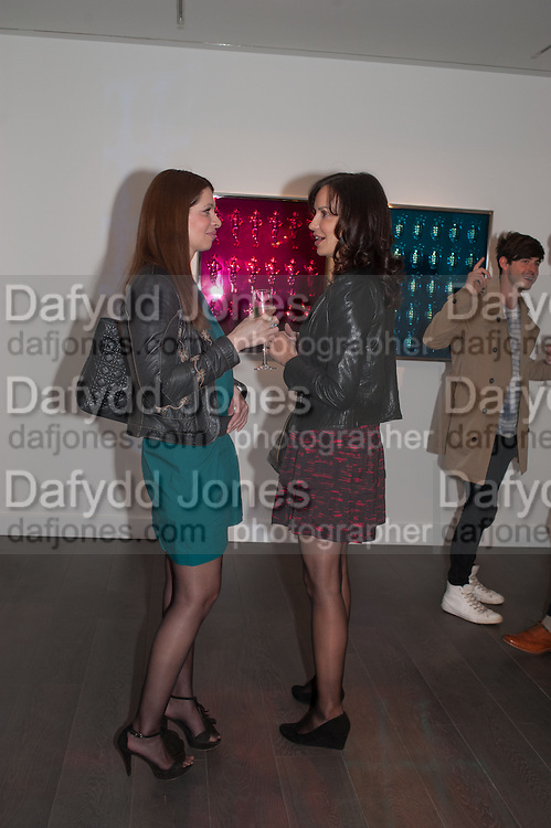 YULIYA ZUEREVA; KSENIA KAAS, Vogue's Fashion night out special opening of the Halcyon Gallery.  New Bond St. London. 6 December 2012.