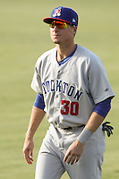 Tyler Marincov Stockton Ports - August 2014 - Lake Elsinore/Rancho Cucamonga Series