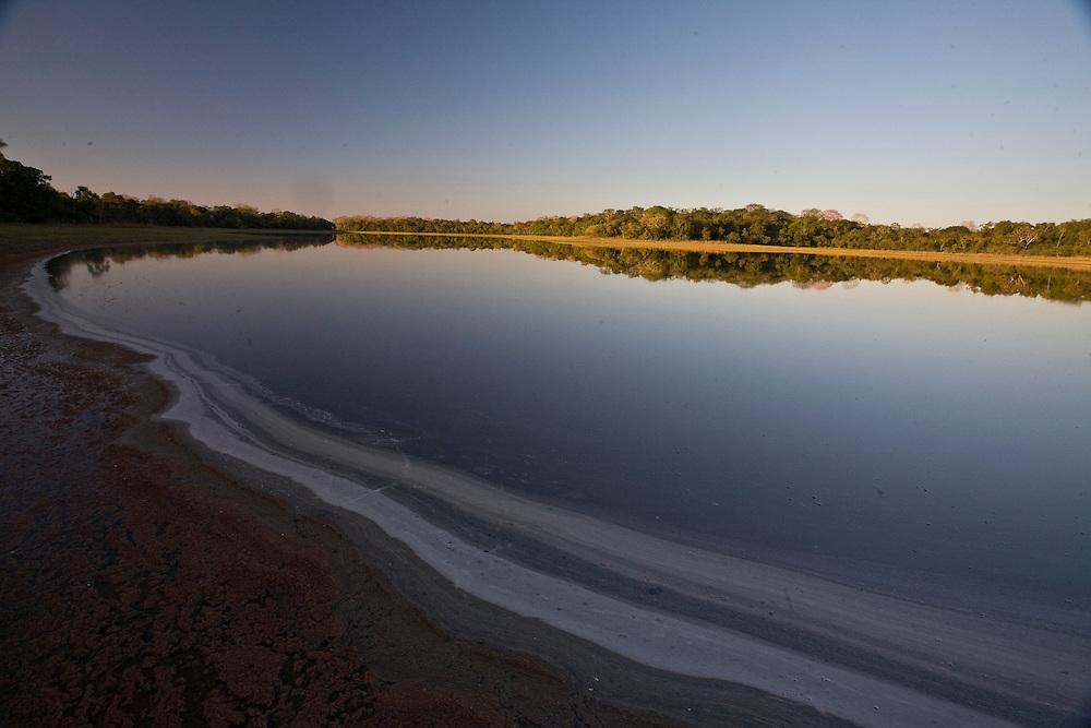 Aquidauana_MS, Brasil...Lago na fazenda Rio Negro no Pantanal...The lake in Rio Negro farm in the Pantanal...Foto: JOAO MARCOS ROSA / NITRO
