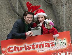 Repo Free: 27 November 2013<br /> Singer Brian Kennedy and Fair City actress Aoibheann McCaul are pictured with Dustin the Turkey at launch of Christmas FM, returning tomorrow 28th November to sprinkle lots of festive cheer and seasonal goodwill across Ireland in the run up to Christmas. From now until the 26th of December tune in to hear a host of very familiar radio voices who will be volunteering their time to bring you round-the-clock Christmas tunes and festive updates. This year, Christmas FM will be raising awareness and funds for Aware, the national organisation providing support, information and education services around depression to individuals, families and communities throughout Ireland. With every text sent, &euro;2 is donated to Aware, so get listening and get texting. <br /> Log onto www.christmasfm.com to listen live or to find your local frequency in your area. Pic Andres Poveda<br /> <br /> Follow the station on Facebook at www.facebook.com/christmasfm <br /> <br /> <br /> For further information, please contact:<br /> Breda Brown / Ailbhe Byrne<br /> Unique Media<br /> Tel: 01 522 5200 or 087 2487120 (BB)