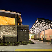 Images of the Stanislaus County Juvenile Commitment Center Civic Architecture Examples of Chip Allen Photography.