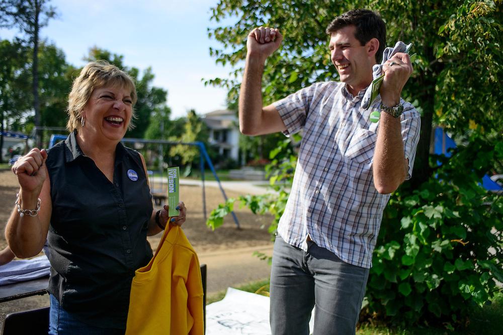 Canada, Edmonton. Sept/20/2013. Community League Day.