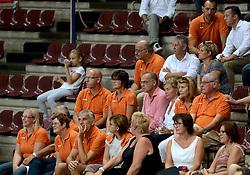 28-09-2014 ITA: World Championship Volleyball Mexico - Nederland, Verona<br /> Nederland wint met 3-0 van Mexico / Oranje support publiek, Johan Wakkie