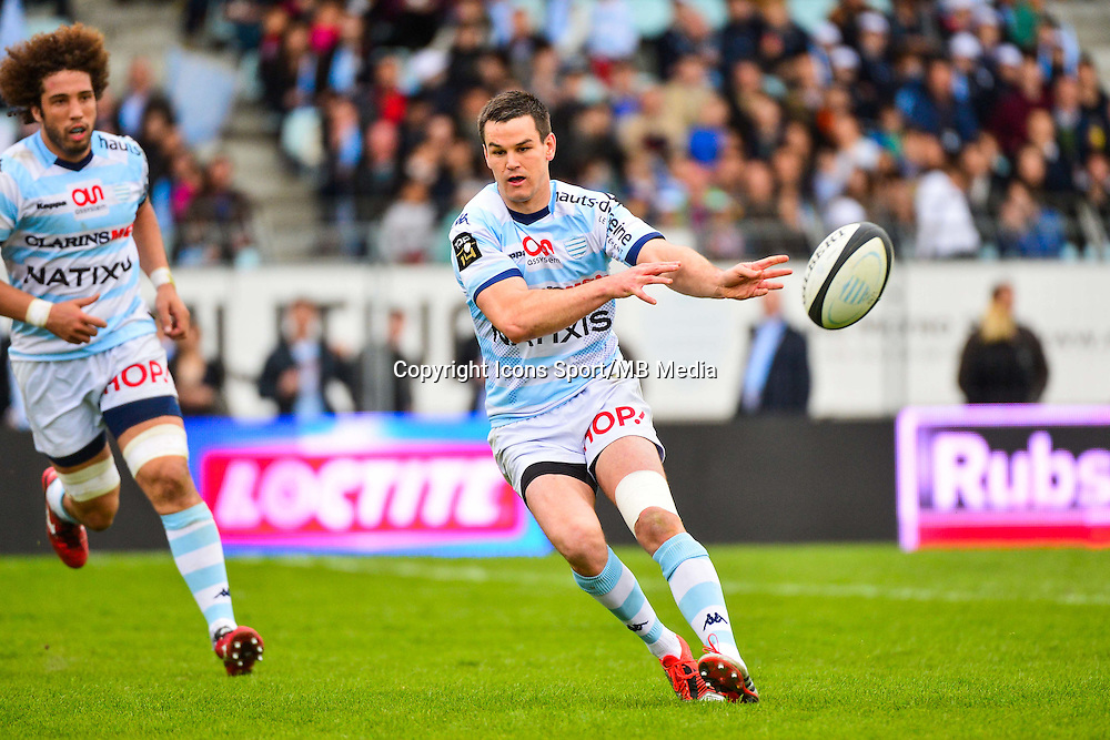 Jonathan SEXTON  - 11.04.2015 - Racing Metro / Montpellier  - 22eme journee de Top 14 <br />