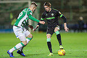 Forest Green Rovers Theo Archibald(18) on the ball during the EFL Sky Bet League 2 match between Yeovil Town and Forest Green Rovers at Huish Park, Yeovil, England on 8 December 2018.