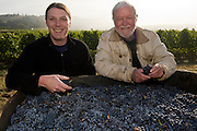 Ted & Ben Casteell of Bethel Heights winery, Eola Hills, Willamette Valley, Oregon