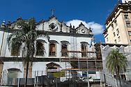Fotos das obras de Restauro da Igreja da Ordem Terceira de São Francisco, realizadas no mês de novembro de 2013. São Paulo, 22 de janeiro de 2013. Foto Daniel Guimarães