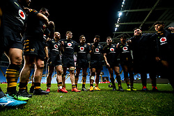 Wasps huddle - Mandatory by-line: Robbie Stephenson/JMP - 05/01/2020 - RUGBY - Ricoh Arena - Coventry, England - Wasps v Northampton Saints - Gallagher Premiership Rugby