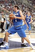ATENE 21 AGOSTO 2007<br /> BASKET<br /> TORNEO AKROPOLIS<br /> ITALIA-GRECIA<br /> NELLA FOTO: GALANDA<br /> FOTO CIAMILLO-CASTORIA