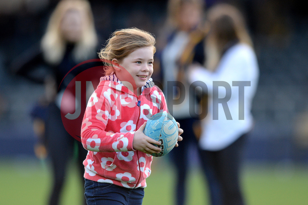 Half time entertainment - Mandatory by-line: Dougie Allward/JMP - 22/10/2016 - RUGBY - Sixways Stadium - Worcester, England - Worcester Warriors v Brive - European Challenge Cup